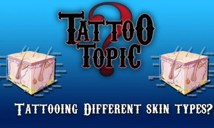 Tattoo Topic – Tattooing Different Skin Types