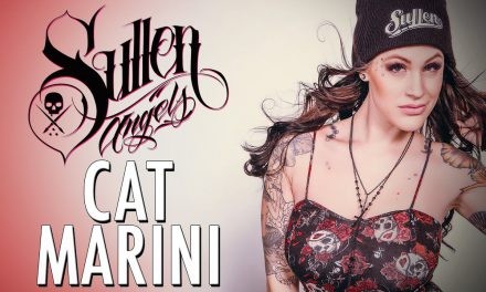 Cat Marini Sullen Angel Shoot with Nicole Caldwell