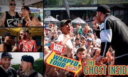 Rick Thorne Interviews The Ghost Inside at Warped Tour 2014