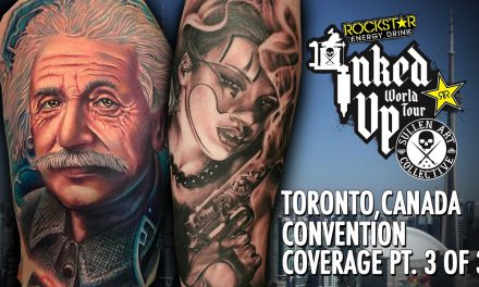 Rockstar Energy Inked Up Tour Tattoo Convention Coverage Toronto Canada part 3 of 3