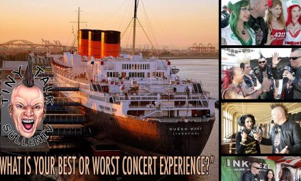 """Tiny Talk at Ink and Iron """"What is your best or worst concert memory?"""""""