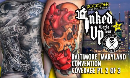 Rockstar Energy Inked Up Tour Tattoo Convention Coverage Baltimore part 2 of 3