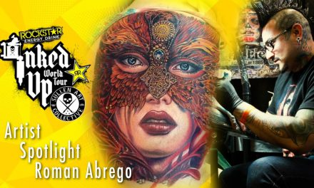 Artist Spotlight – Roman Abrego Inked Up World Tour Baltimore Maryland