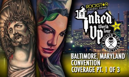 Rockstar Energy Inked Up Tour Tattoo Convention Coverage Baltimore part 1 of 3