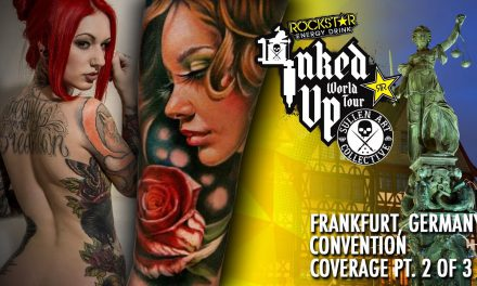 Rockstar Energy Inked Up Tour Tattoo Convention Coverage Frankfurt part 2 of 3