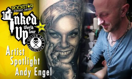 Artist Spotlight – Andy Engel Inked Up World Tour Frankfurt Germany