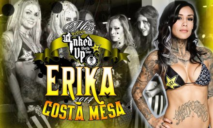 Rockstar Energy Miss Inked Up Musink 2014