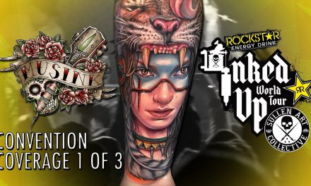 Rockstar Energy Inked Up Tour Tattoo Convention Coverage Musink part 1 of 3