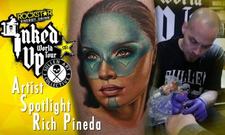 Artist Spotlight – Rich Pineda Inked Up World Tour Costa Mesa