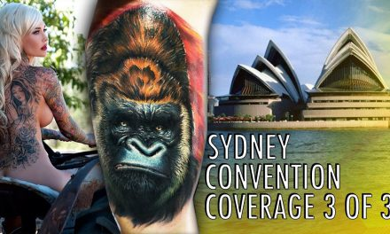 Rockstar Energy Inked Up Tour Tattoo Convention Coverage Sydney part 3 of 3