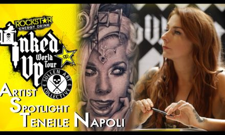 Artist Spotlight -Teneile Napoli Inked Up World Tour Sydney