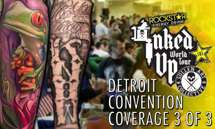 Rockstar Energy Inked Up Tour Tattoo Convention Coverage Detroit 3 of 3