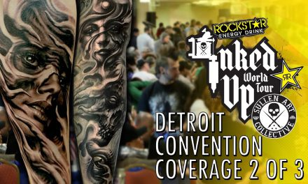 Rockstar Energy Inked Up Tour Tattoo Convention Coverage Detroit 2 of 3