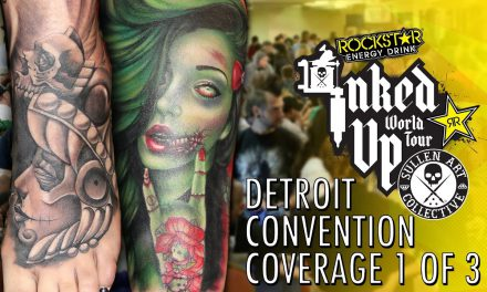 Rockstar Energy Inked Up Tour Tattoo Convention Coverage Detroit 1 of 3