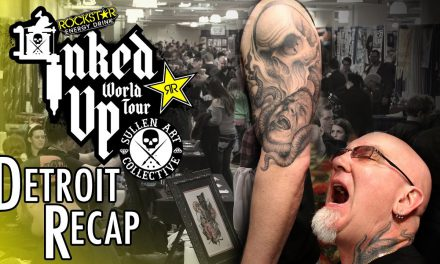Inked up World Tour Detroit Motor City Tattoo Expo Recap