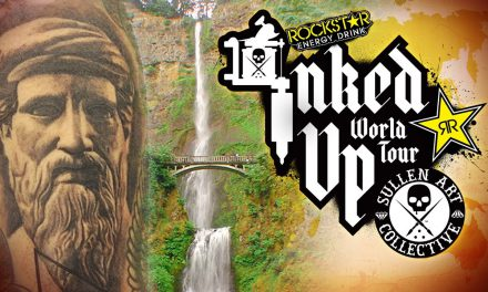 TATTOO CONVENTION COVERAGE – Rockstar Inked Up Tour Portland 2 of 2