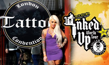 TATTOO CONVENTION COVERAGE – Rockstar Energy Miss Inked Up London