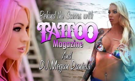 DJ Megan Daniels – Tattoo Magazine Shoot