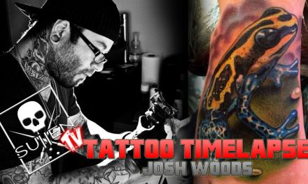 Tattoo Time Lapse – Josh Woods – Tattoos Realistic Frog