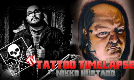 Tattoo Time Lapse – Nikko Hurtado- Tattoos Realistic Color Portrait of Paul Booth