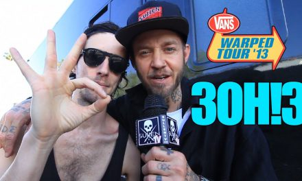 Vans Warped Tour with Rick Thorne – 3OH!3 Interview