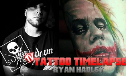 Tattoo Time Lapse – Ryan Hadley – Tattoos Heath Ledger Joker