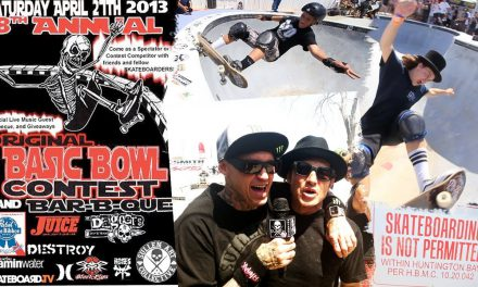 Basic Bowl 18, Backyard Bowl Skate Contest in Huntington Beach