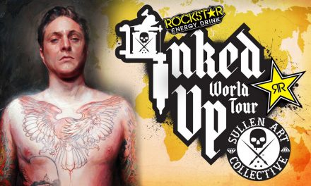 Artist Spotlight with Shawn Barber – Rockstar Energy Inked Up World Tour