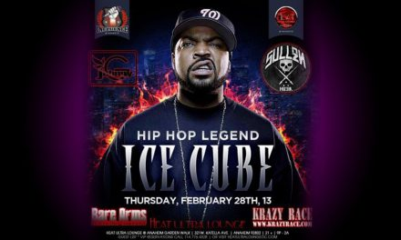 Ice Cube at Heat Ultra Lounge in Anahiem, with Johnny G and Krazy Race
