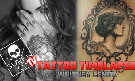 Tattoo Time Lapse – Whitney Lenox – Tattoos Vintage Mirror on Mike Vallelys Daughter