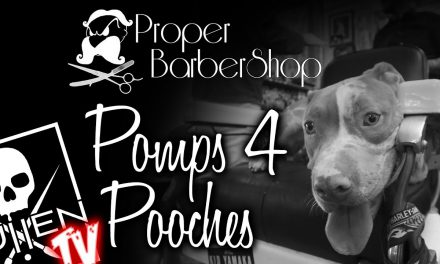 The Proper Barbershop Presents Pomps for Pooches