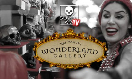 Skulls Show at Kat Von D's Wonderland Gallery