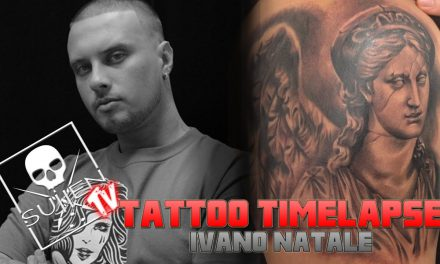 Tattoo Time Lapse – Ivano Natale – Tattoos Angel Statue