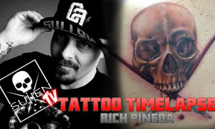 Tattoo Time Lapse – Rich Pineda – Tattoos Realistic Sullen Badge