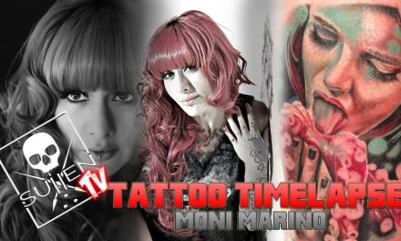 Tattoo Time Lapse – Moni Marino – Tattoos Woman and Octopus