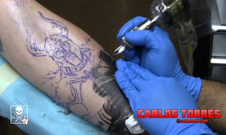 Tattoo Time Lapse with Carlos Torres
