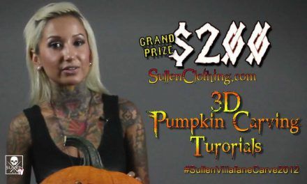 Villafane Studios Presents Pumpkin Carving with Bernadette
