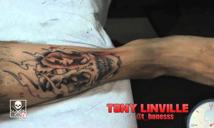 Tattoo Time Lapse with Tony Linville