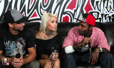Sullen Musik Release at the O-Brown show on B-Real.TV