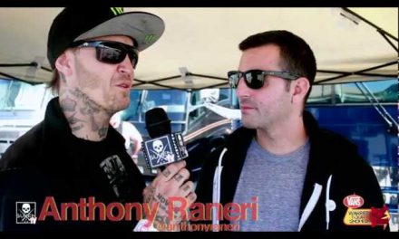 Sullentv at the Vans Waped Tour 2012 with Anthony Raneri and Rick Thorne