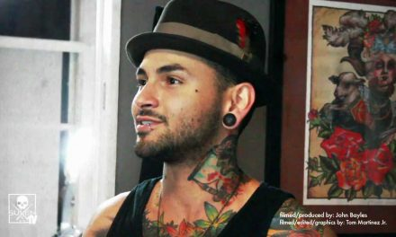 Jon Mesa gives a tour of Sacred Tattoo in New York City