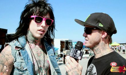 Vans Warped Tour 2012 with Ronnie Radke from Falling in reverse and Rick Thorne