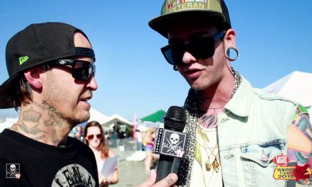Vans Warped Tour 2012 with T. Mills and Rick Thorne