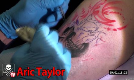 Tattoo Time Lapse – Aric Darkhorse Taylor