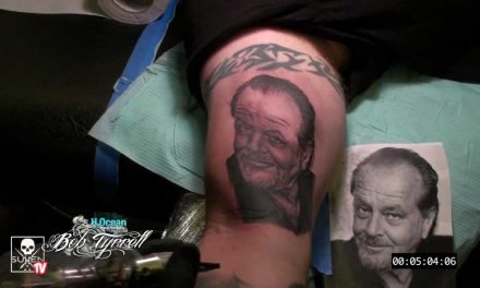 Tattoo Time Lapse with Bob Tyrrell