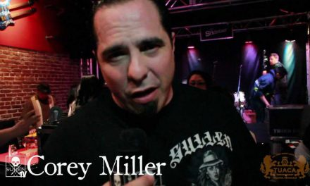 Tuaca presents Corey Miller with Powerflex 5