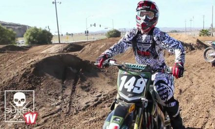 Casey Hinson SuperCross day on the dirt