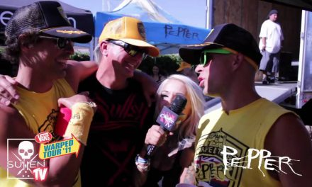 Vans Warped Tour 2011 Interview with Pepper!