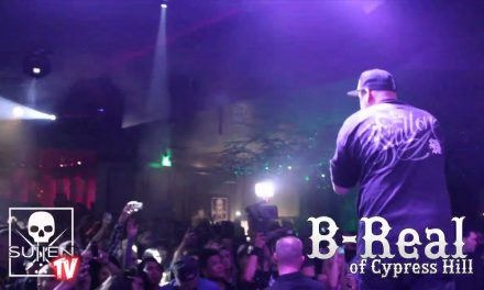 B Real performs at Sullen Art Collectives 10 year Anniversary