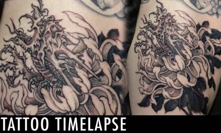 Tattoo Timelapse – Jojo Ackermann
